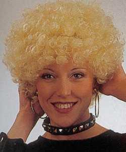 Perruque-Boucl�e-blonde