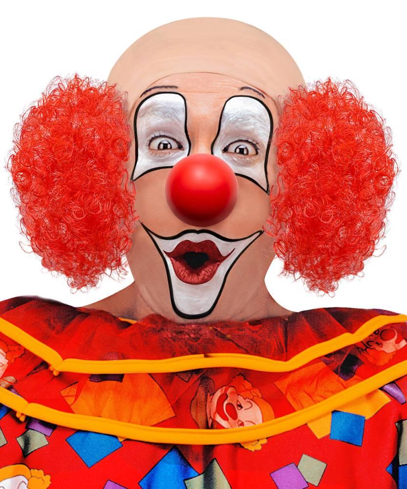 Perruque-Clown-chauve-rouge