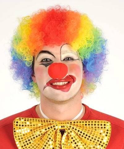 Perruque-Clown-Arc-en-ciel