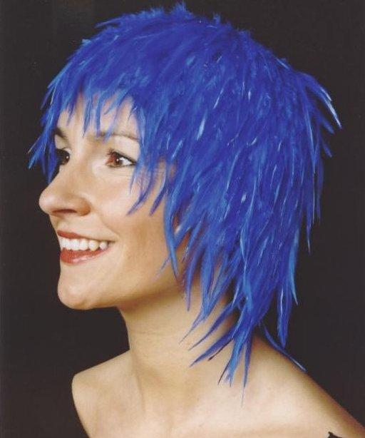Perruque-Plumes-Nina-bleue