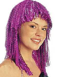 Perruque-Metallic-violette