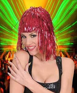 Perruque-Disco-rouge