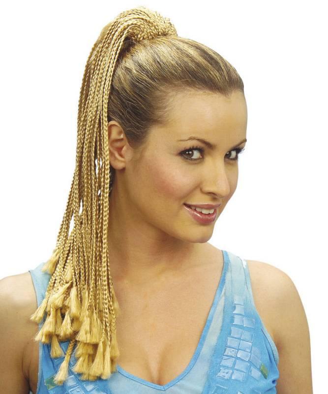 Extension-blonde-tressée