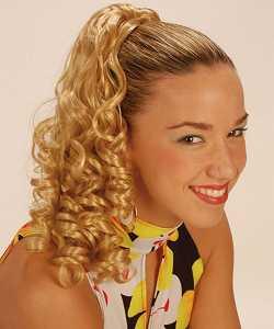 Perruque-Extension-boucl�e-Rachel-blonde