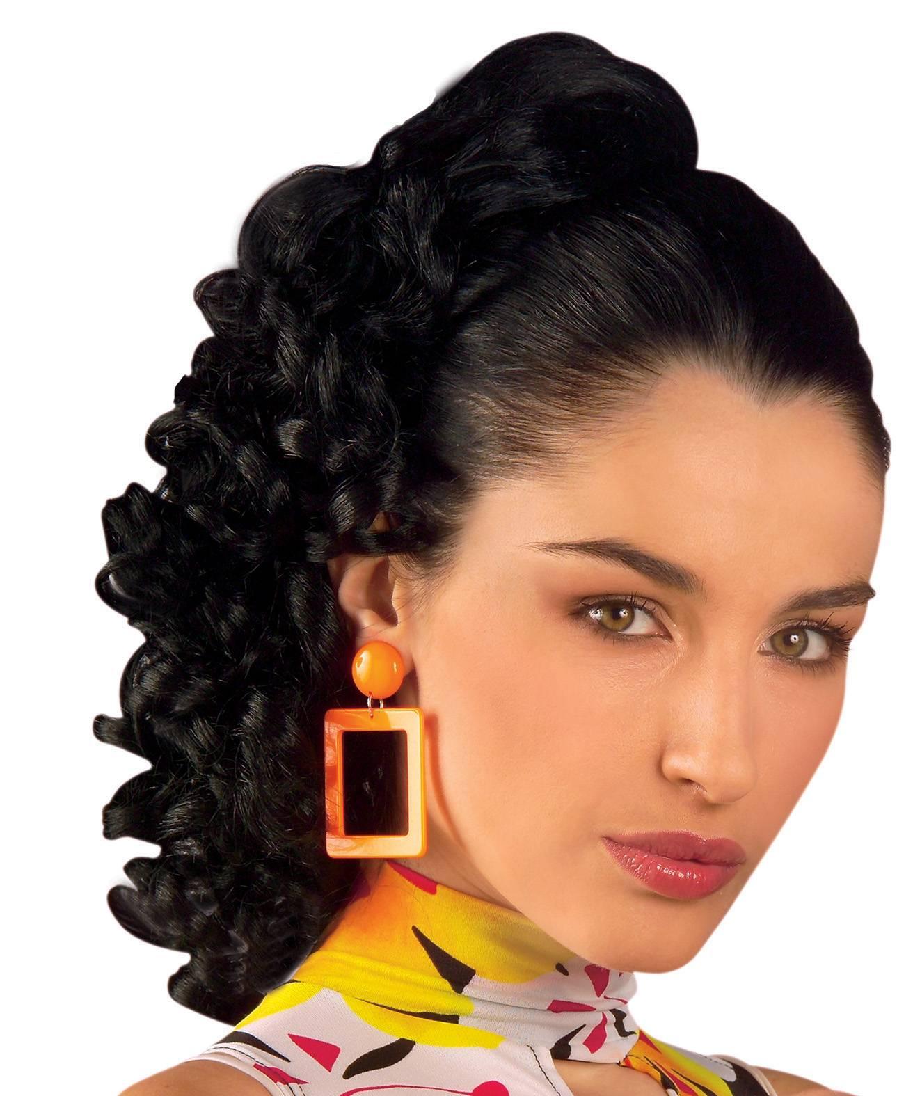 Perruque-Extension-bouclée-Rachel-noire