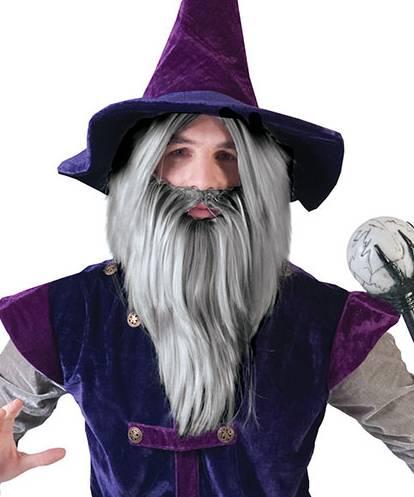 Perruque-de-sorcier-avec-barbe