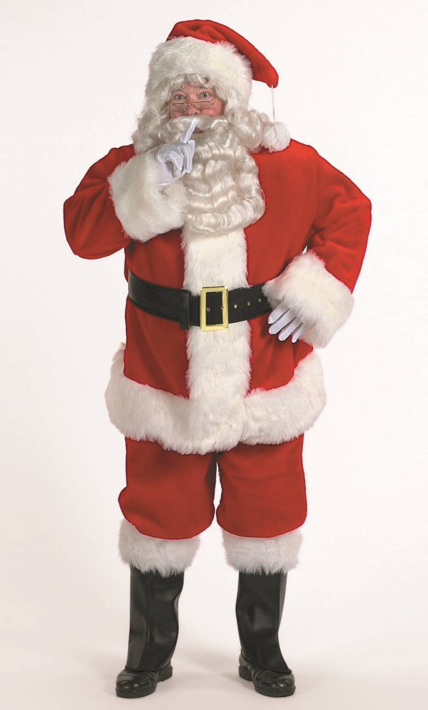 Déguisement-de-Père-Noël-Professionnel