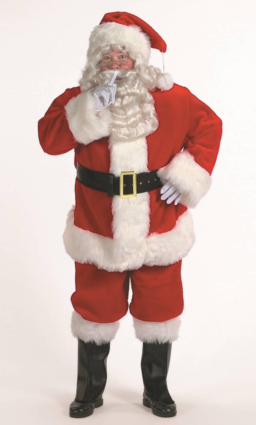 Costume-Père-Noël-Professionnel