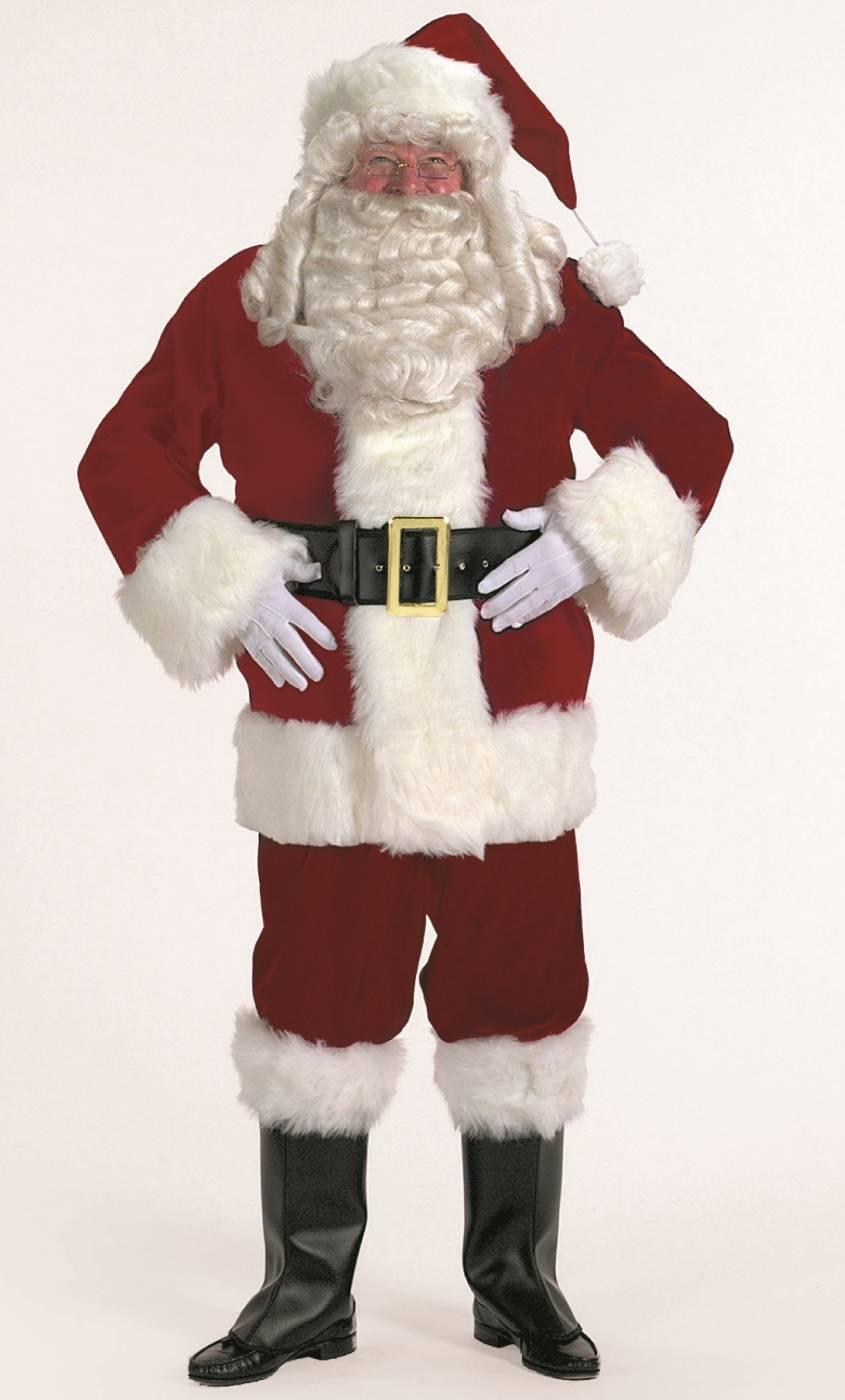 Costume-de-Père-Noël-luxe