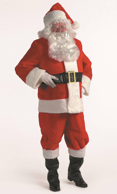 Costume-de-Père-Noël-en-Peluche