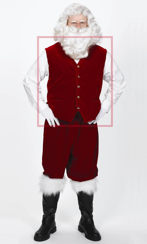 Weihnachtsmann-Weste