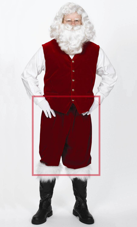 Weihnachtsmann-Hose