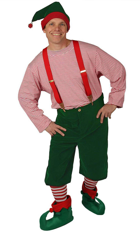 Weihnachtself-Weihnachts-Kobold-Kostüm
