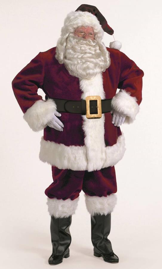 Costume-de-père-Noël-haut-de-gamme