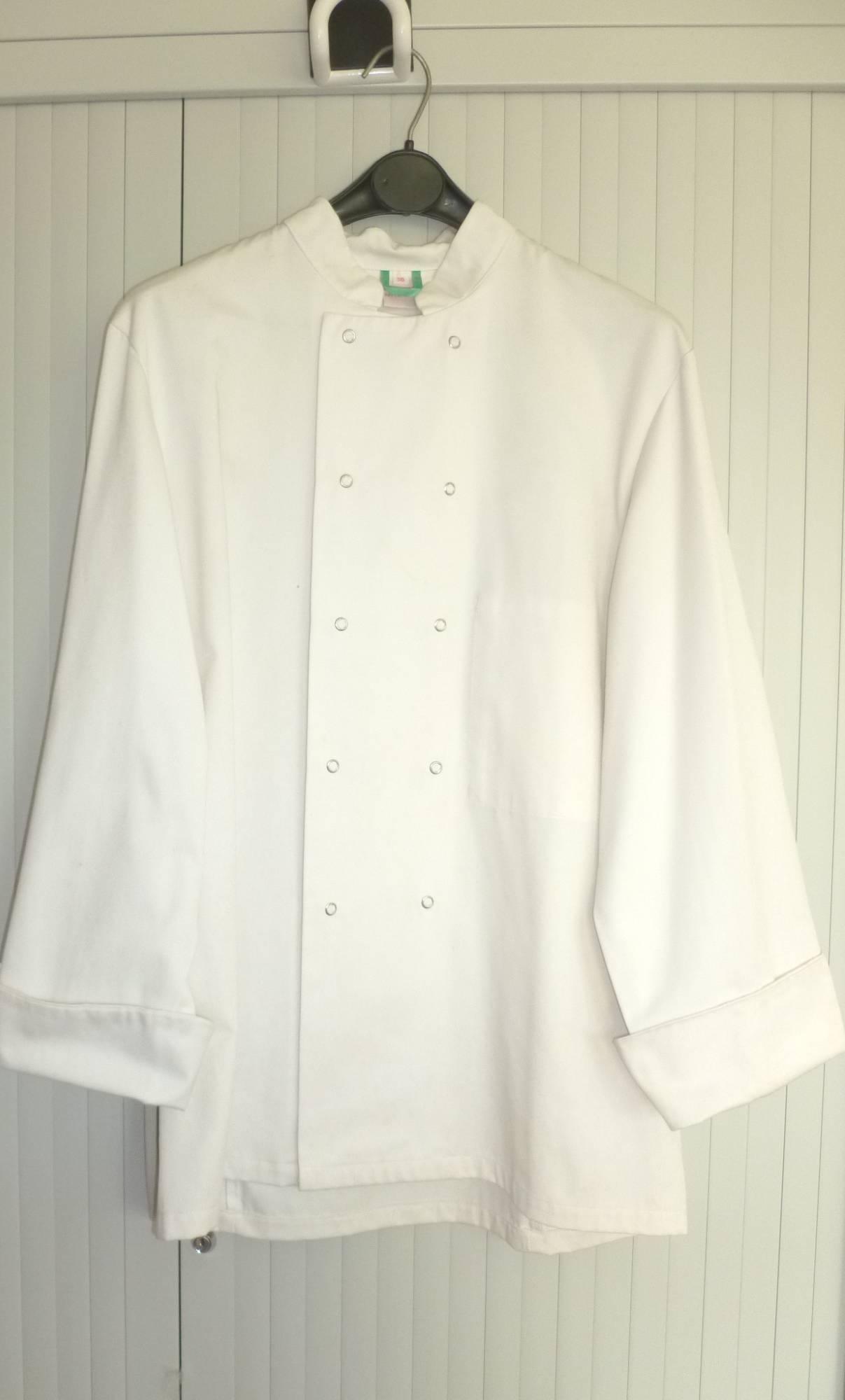 Costume veste de cuisinier h1 v11033 for Cuisinier 49
