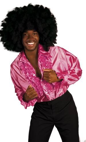 Costume-Chemise-Disco-rose
