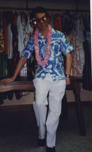 Costume-Hawaïen