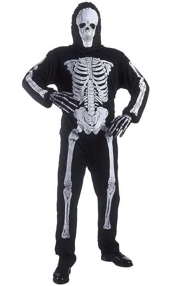 Costume de squelette adulte