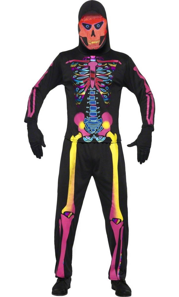 Costume-Squelette-Néon