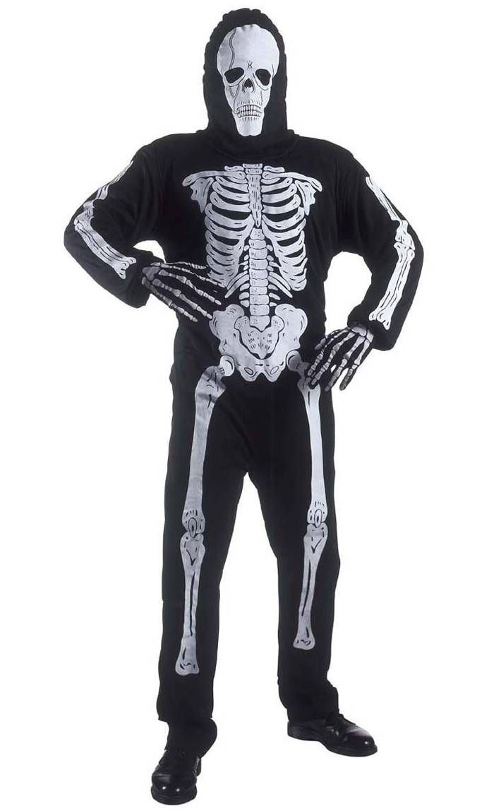 Costume squelette xl