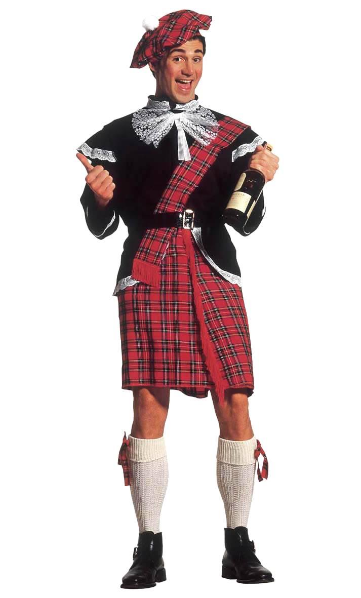 Costume ecossais v19111 for Pourquoi ecossais portent kilt