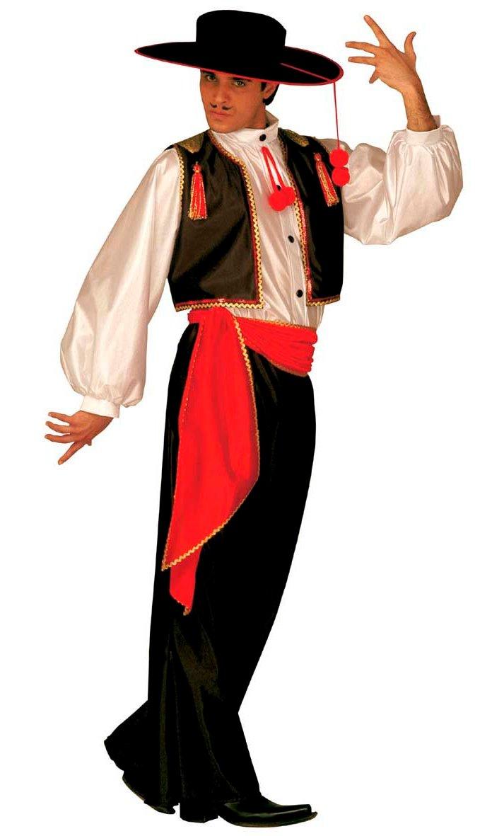déguisement homme espagnol