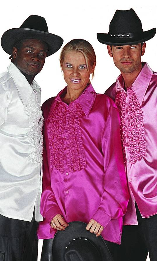 Chemise-Disco-luxe-fushia