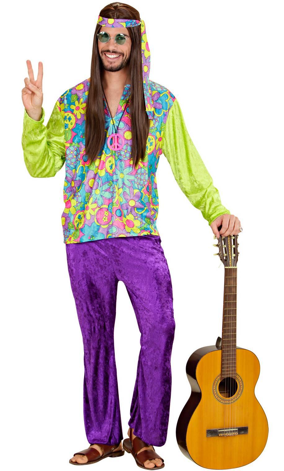 Costume hippie v19217 - Tenue hippie homme ...