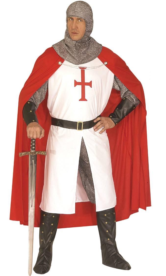Déguisement-Chevalier-Croisé-Templier-Homme