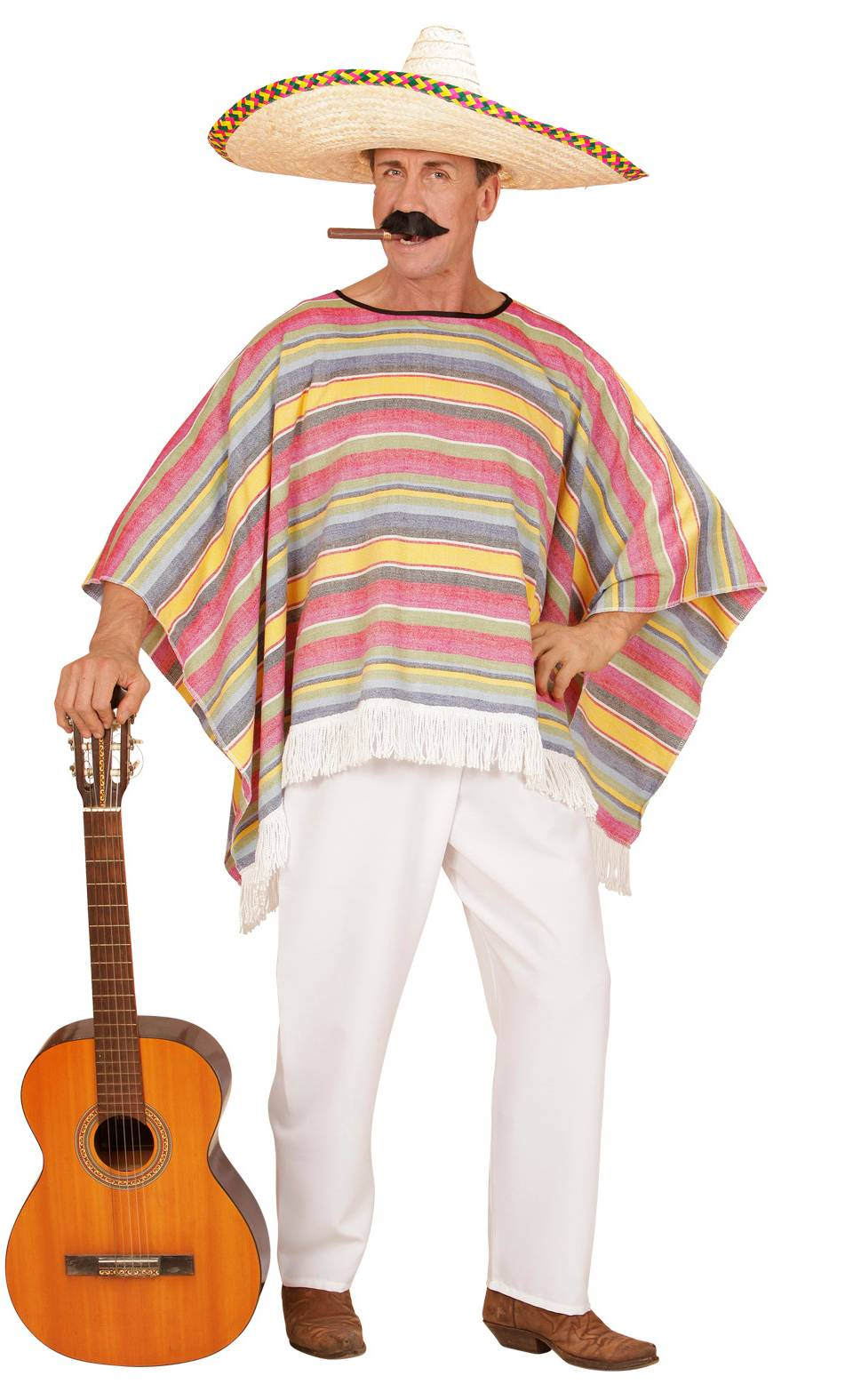 Costume-Poncho-mexicain