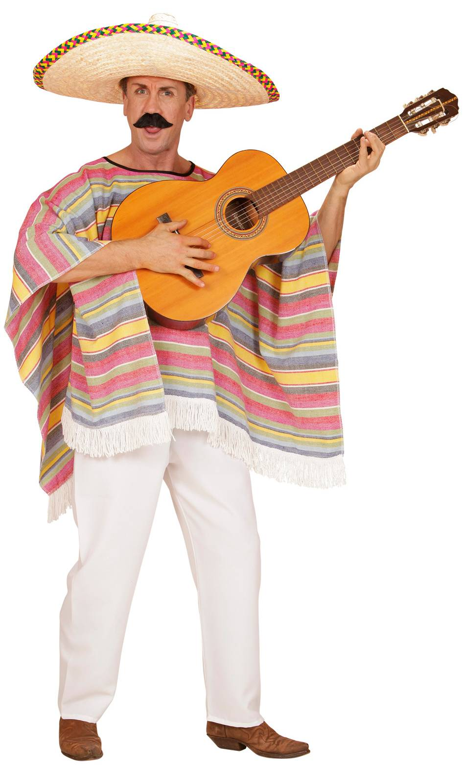 Costume-Poncho-mexicain-2
