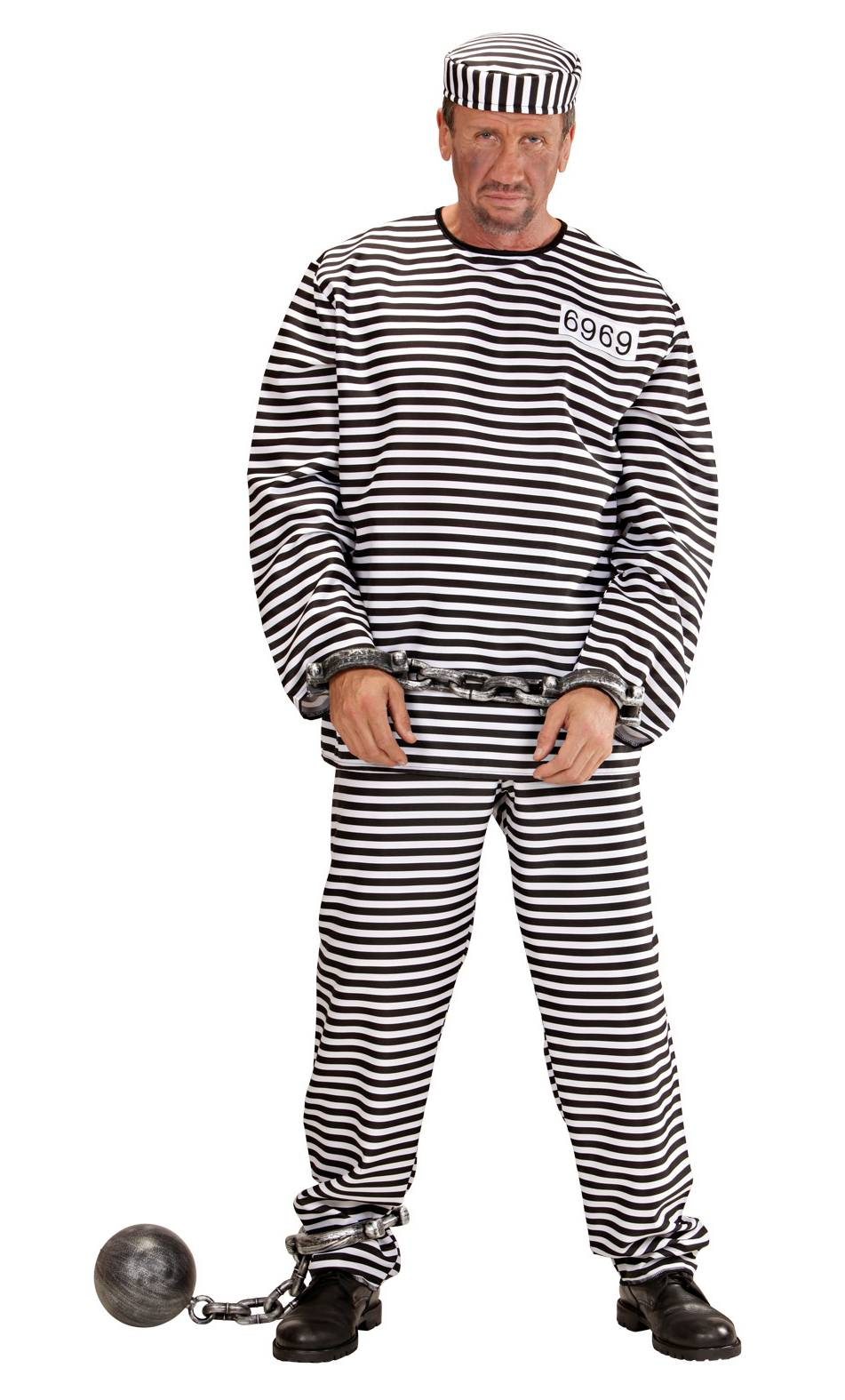 Costume prisonnier adulte
