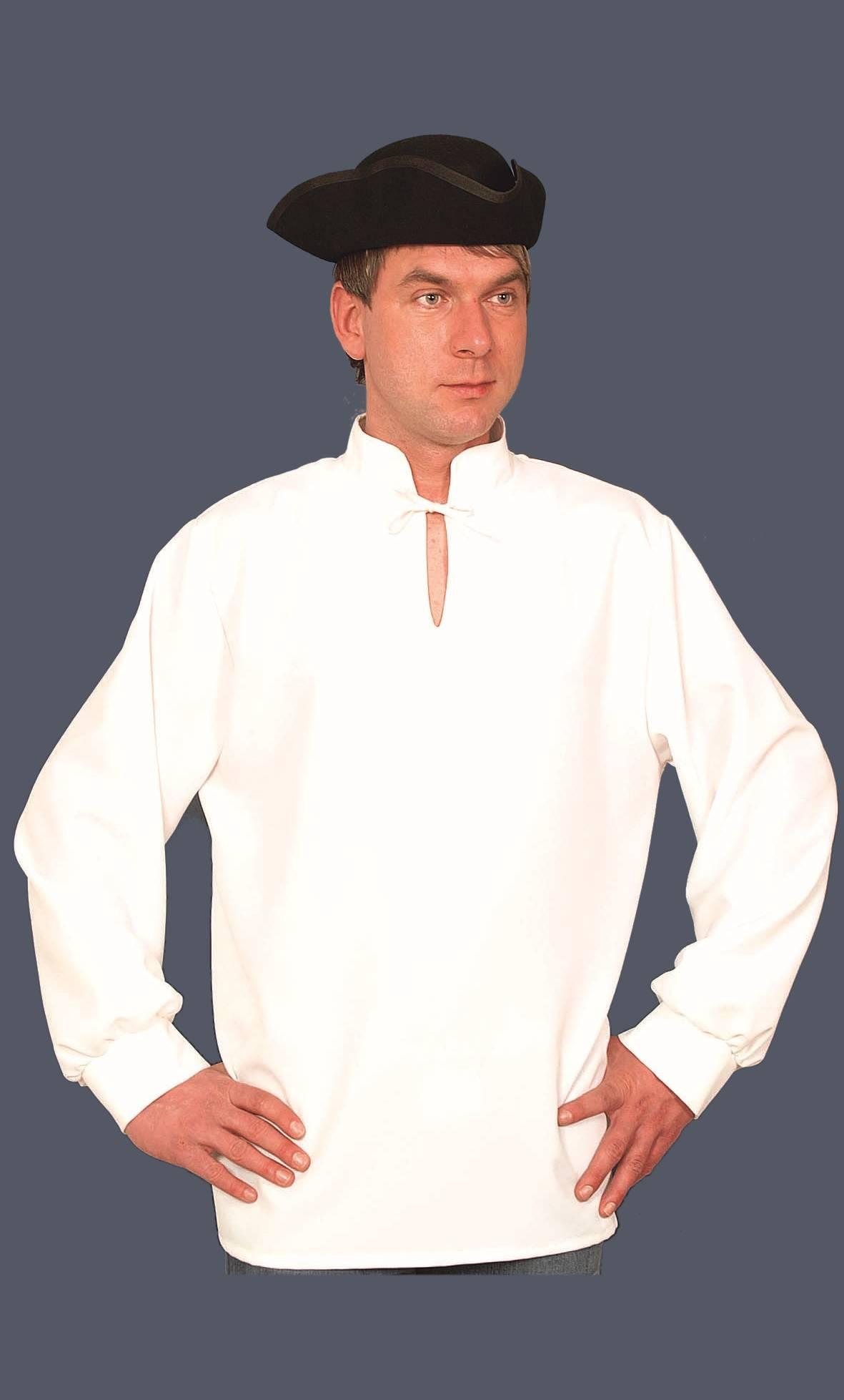 Chemise-médiévale-blanche