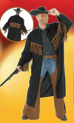 Costume-Cow-Boy-Manteau-West