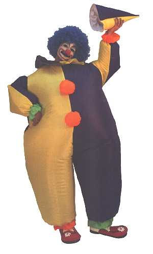 Déguisement-de-clown-gonflable