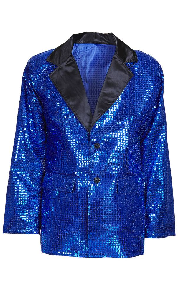 Veste-paillettes-bleu-Homme