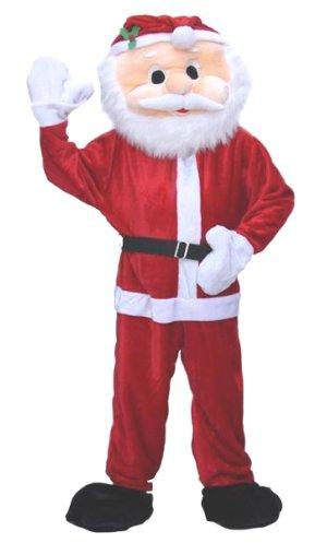Costume-Père-Noël-Mascotte