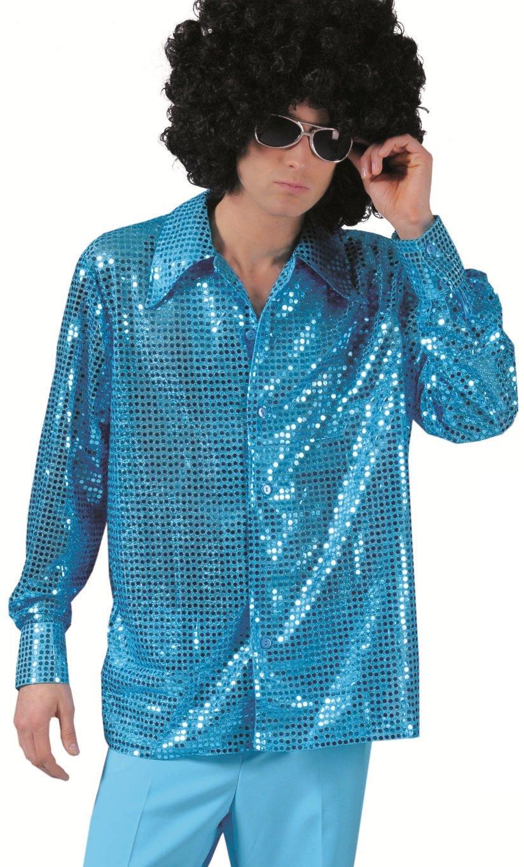Chemise-Paillettes-bleue