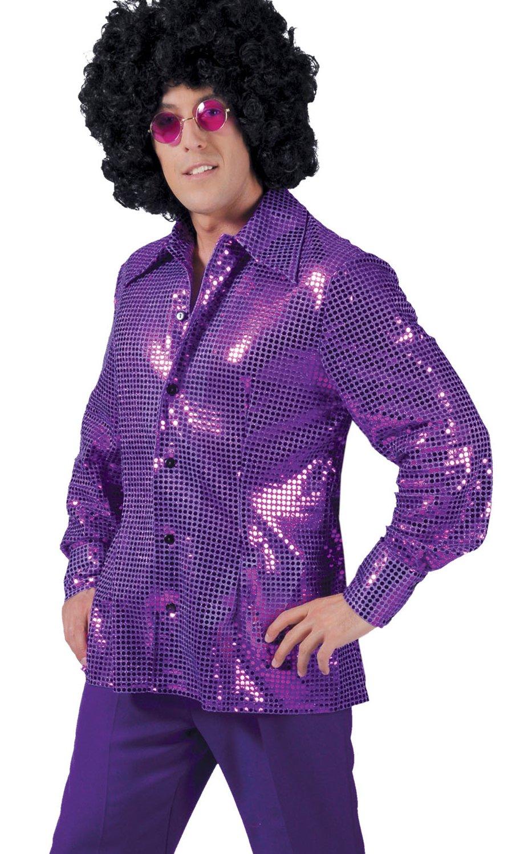 Chemise-Paillettes-violette