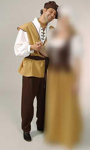 Costume-Paysan-Médiéval