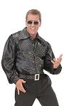 Chemise-disco-noire-pour-homme