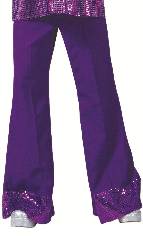 Pantalon-disco-violet
