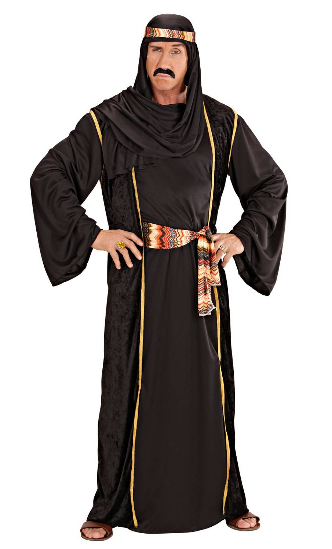 Costume-Sheik-noir-Homme-XL-XXL-2