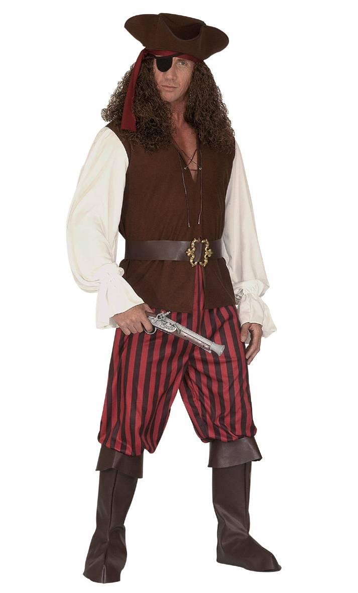 Déguisement-Pirate-Homme-Grande-Taille-XL-XXL