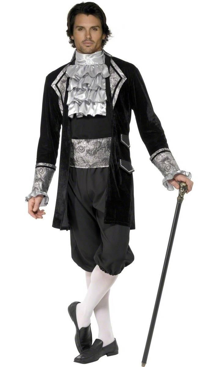 Costume Marquis Sombre V19493