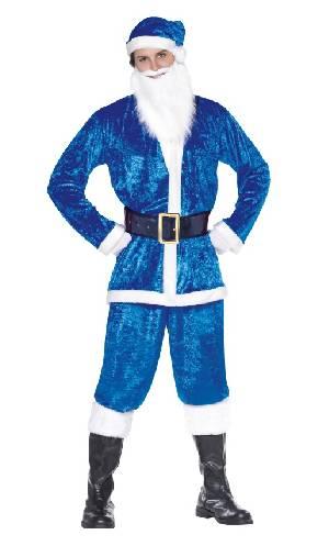 Costume-Père-Noël-bleu