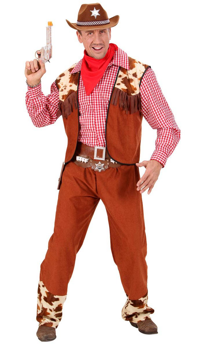 Costume cow - boy homme