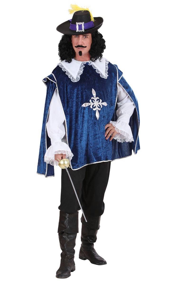 Costume-Mousquetaire-Bleu