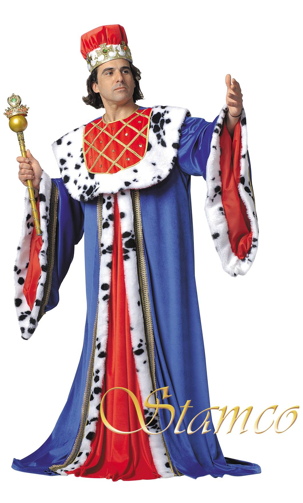 Costume-Roi-médiéval