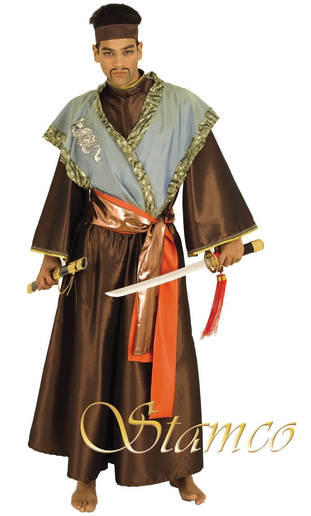 Costume-Samouraï-Grande-taille